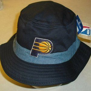 Indiana Pacers Adidas adult Mens Bucket hat Nba
